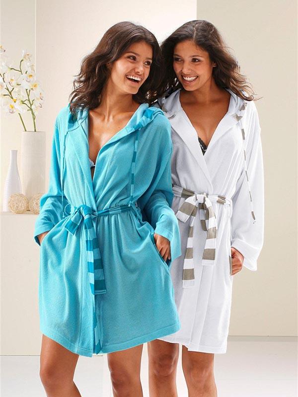 Модные халаты для девушек